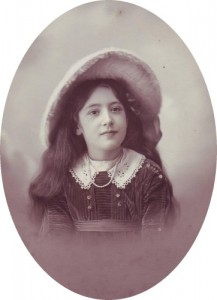 Nancy Powell, aged 7 1914